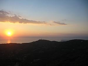 Per godersi un romantico tramonto